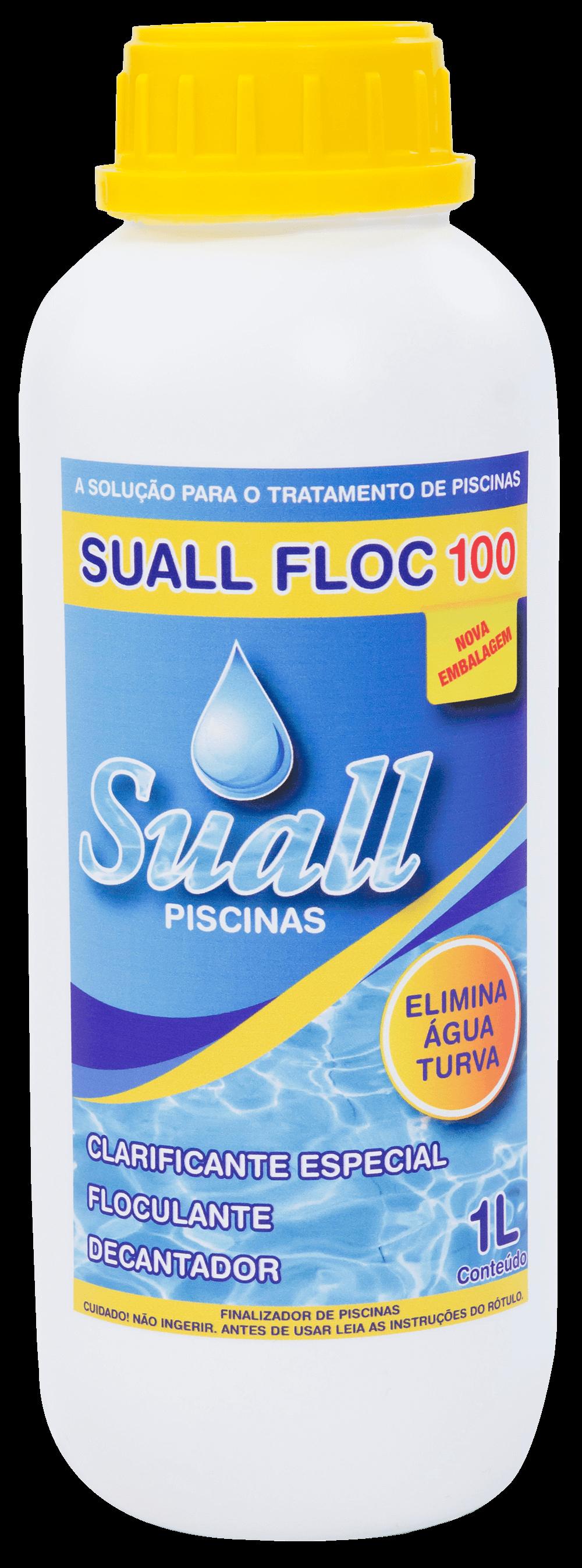 SUALL FLOC 100 - CLARIFICANTE FLOCULANTE DECANTADOR